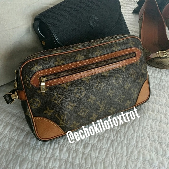 2b64271ec40e Louis Vuitton Handbags - Louis Vuitton Marly Dragonne clutch bag
